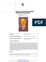 Biografia de Luis Pachano CFdoc