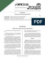 DECISION 671 CAN - ARMONIZACION DE REGIMENES ADUANEROS.pdf