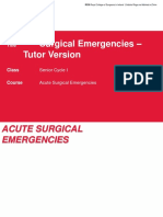 Acute Surgical Emergencies - Tutor Version (2)
