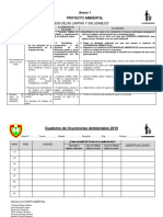 Proyecto Ambiental 2019-1