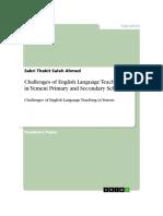 English Language Teaching in Yemen