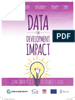 Data for Development Impact