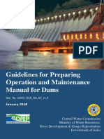 Guidelines for Preparing O&M Manuals for Dams