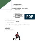 cuadriceps ejercicio