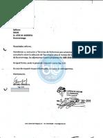 Carta Arturo Vargas