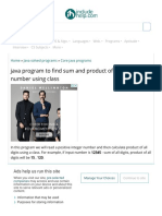java program to find sum and product of all digits of a number using class.pdf