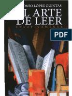 Lopez Quintas - EL Arte de Leer Creativamente