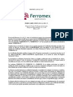 Informe Anual Final BMV 2017 Ferromex