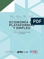 Naturaleza del trabajo en una App (Argentina)