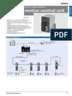 i54e Trajexia-plc Cj1w-Mc 72 Mechatrolink-II Motion Control Unit Datasheet En
