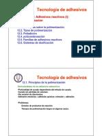 Sesion 12_Adhesivos reactivos I - polimerizacion.pdf