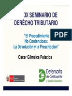 CXXXIX Dcho Tributario 2017