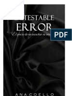 Detestable Error - Ana Coello