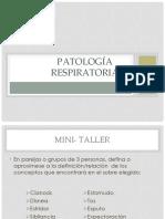 4 P.patología Respiratoria2018