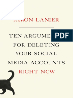 Ten Arguments for Deleting Your Social Media Accounts ..