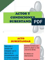 Manual de Actos y Condicion Sub Estandar