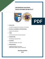 Caracteristicas de La Economia en El Perú