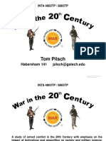 Introduction-War in 20th Century