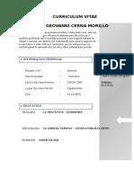 Curriculum Enrique Pretel