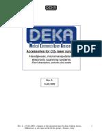Data Sheets Accesorios smartxide hs