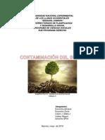 Contaminación de Los Suelos-Wiki