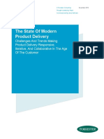 Forrester the State of Modern Product Delivery Forrester Thought Leadership Paper