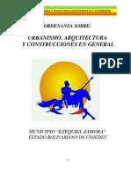 Ordenanza Urbanismo Arquitectura y Construcciones Gral.31!08!2017