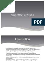 Effect of Statin