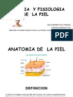 Anatomia y Fisiologia de Piel