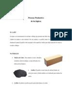 Proceso Productivo Lapiz