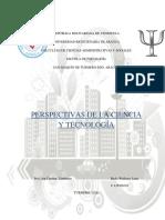 PERSPECTIVAS DE LA CIENCIA Y LA TECNOLOGIA