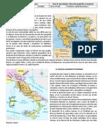 7° guia ubicacion geografica roma y grecia