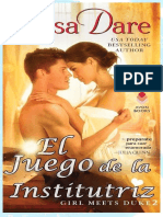Tessa Dare - Serie Girl Meets Duke 02 - El Juego de La Institutriz