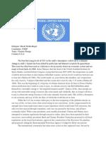 us-climate change  position paper exemplar