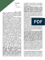 Ensayo sobre el Sistema Político Colombiano
