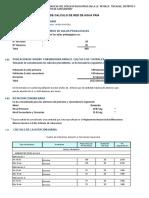Calculo Hidraulico(Cap, Cisterna y Tanque)