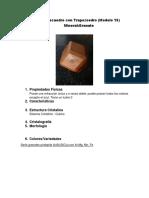 Rombododecaedro Con Trapezoedro(Avanze)