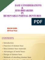 242824440 Denture Base and Stress Breaker in Rpd