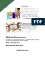 Proyecto El Respeto Fgdfg