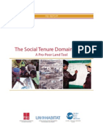 FIG_The Social Tenure Domain Model