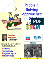 Problem Solving Approaches in STEM