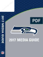 Seattle Seahawks Media Guide 2018