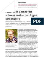 Antonieta Celani Fala Sobre o Ensino de Lingua Estrangeirapdf
