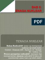 Bab 6 Tenaga Nuklear P