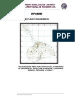Informe Topografico de Irri x Corregir