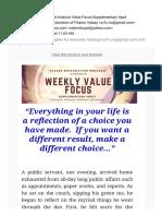 Self-Reflection and Analysis
