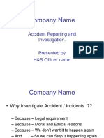 Accident Investigation Presentation by Stuart Would.ppt