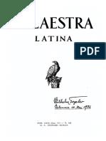 Palaestra Latina 168