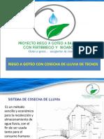 Sistema Riego Cosecha de Lluvia.