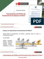 CLASE 2  LINEAMIENTOS DE PS Y GTS.pptx